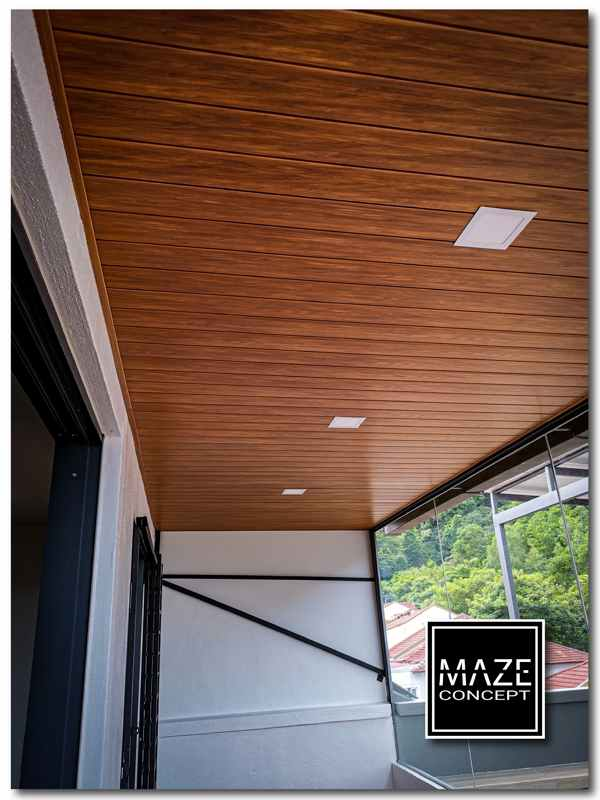 Ceiling Wood Panel For Balcony Kuala Lumpur V3