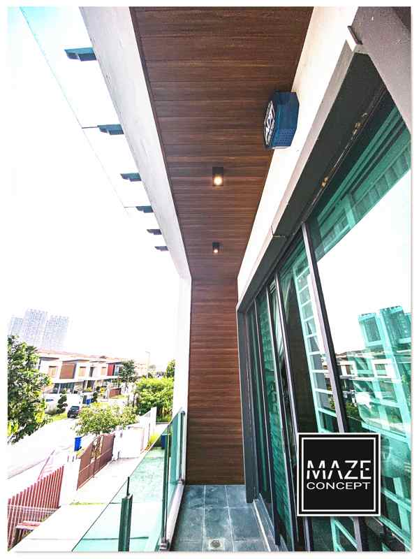Ceiling Wood Panel For Balcony Shah Alam V4