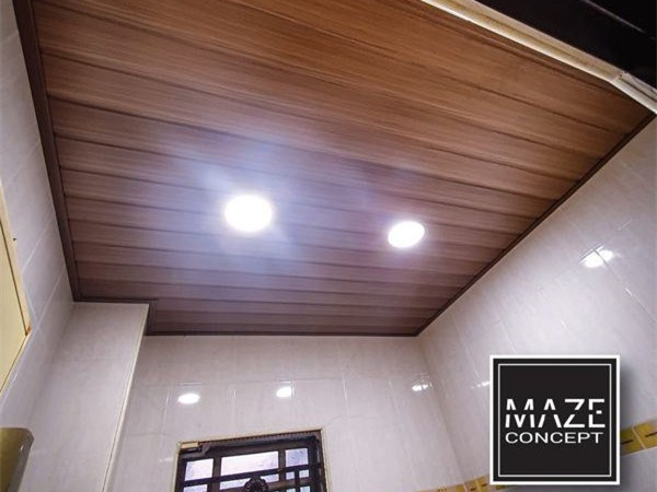Ceiling Wood Panel For Bathroom