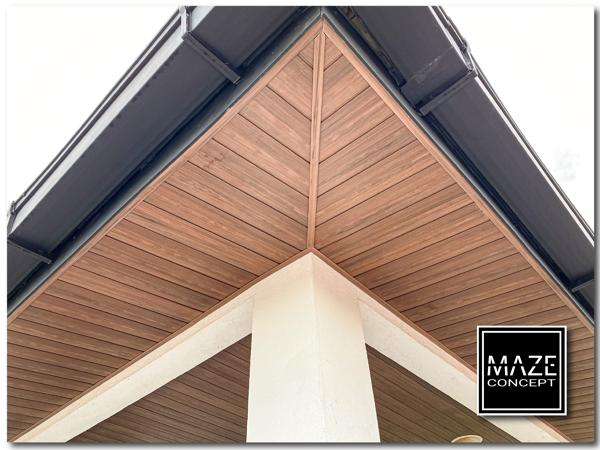 Ceiling Wood Panel For Roof Edge