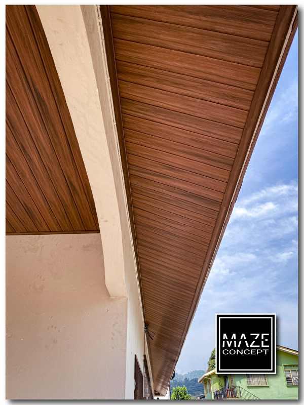 Ceiling Wood Panel For Roof Edge Batu Caves V2