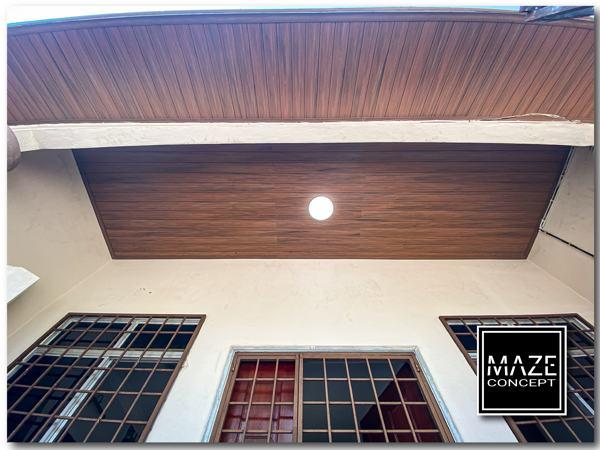 Ceiling Wood Panel For Roof Edge Batu Caves