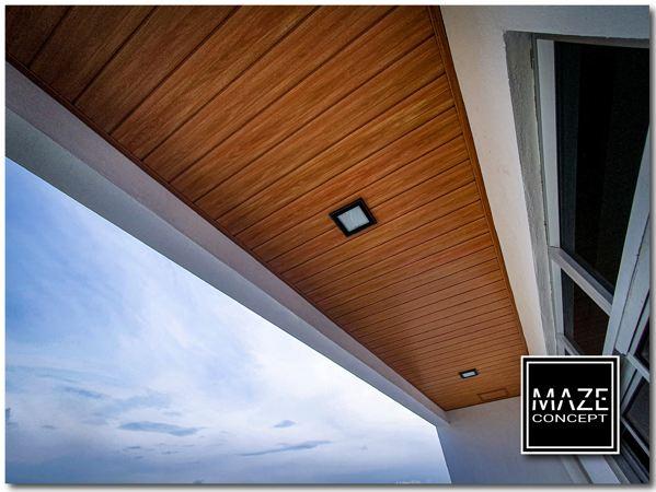 Ceiling Wood Panel For Roof Edge Kajang 1