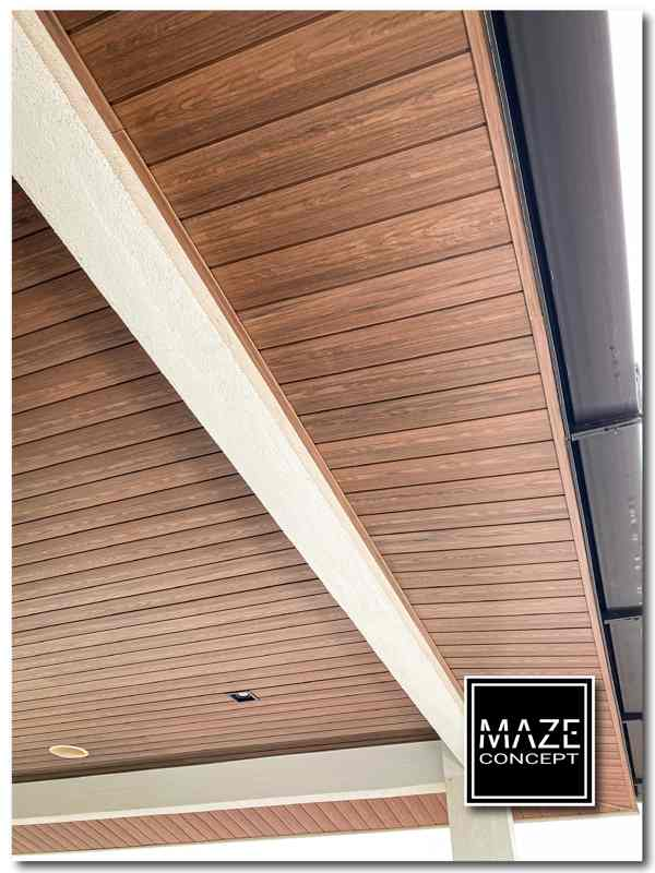 Ceiling Wood Panel For Roof Edge V3