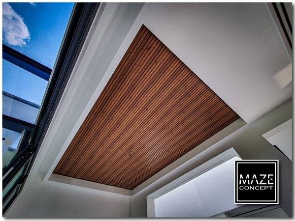 Fluted Ceiling Wood Panel