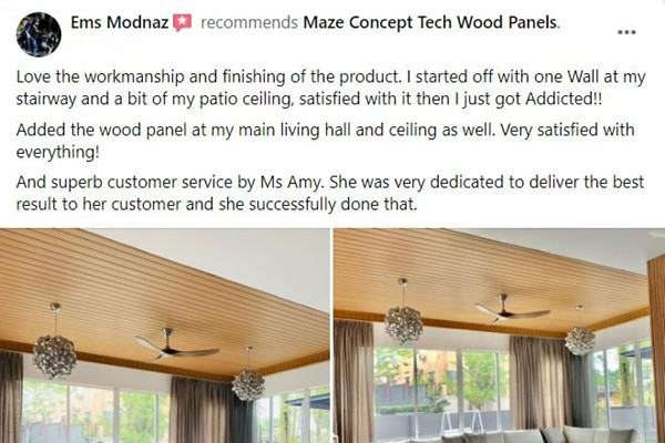 Maze Concept Happy Customer Review 1
