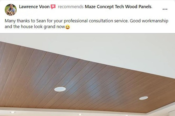 Maze Concept Happy Customer Review 3