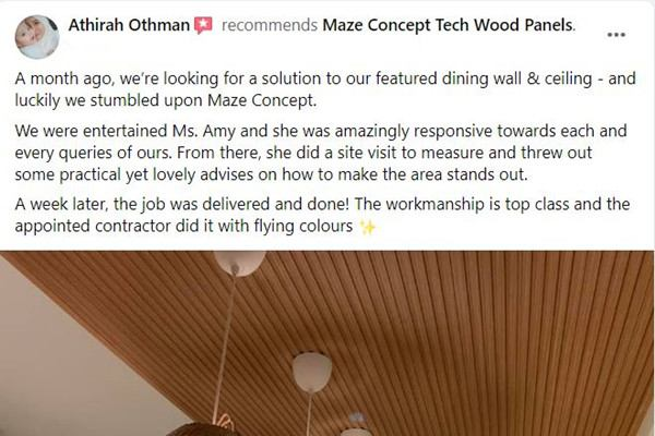 Maze Concept Happy Customer Review 6