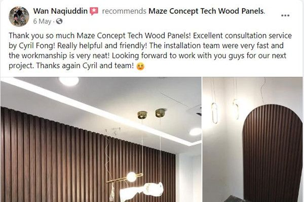 Maze Concept Happy Customer Review 8