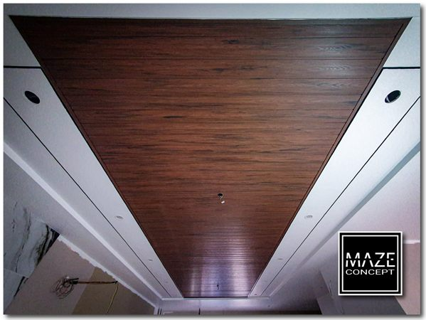 Timber Strip Ceiling For Living Room Balakong