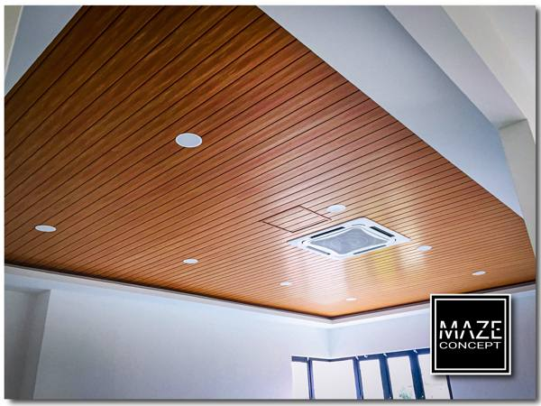 Timber Strip Ceiling For Living Room Kuala Lumpur