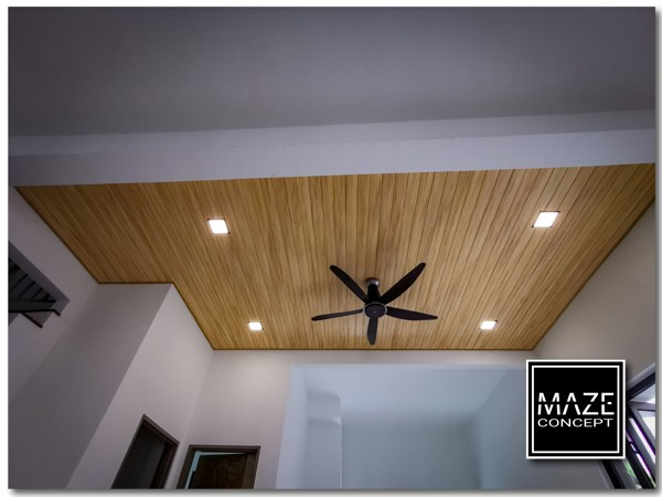 Timber Strip Ceiling For Living Room Puchong