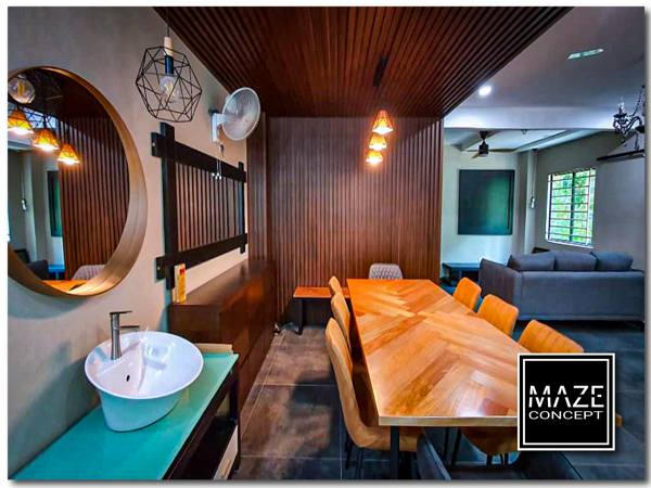 Wood Wall Panel For Dining Room