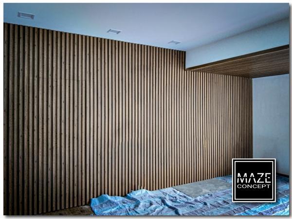 Wood Wall Panel For Living Room Damansara