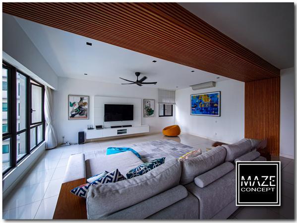 Wood Wall Panel For Living Room Mont Kiara
