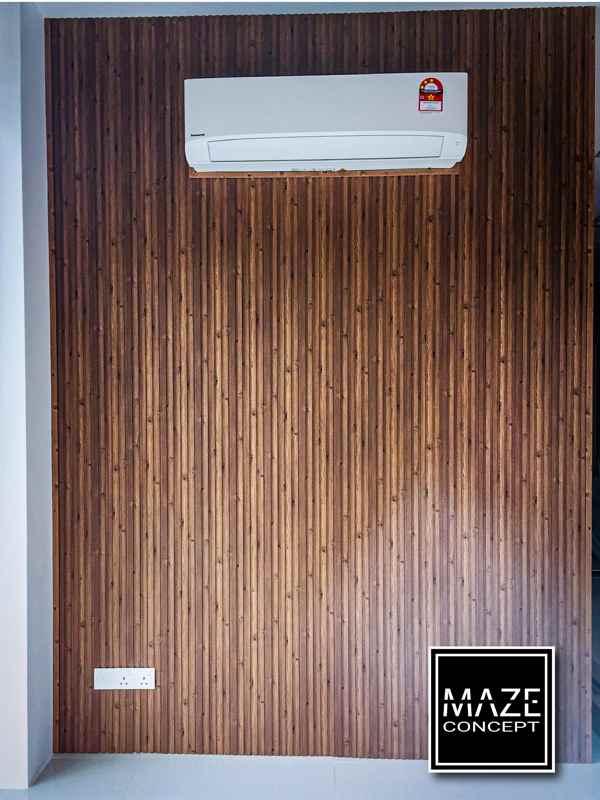 Wood Wall Panel For Living Room Petaling Jaya V4