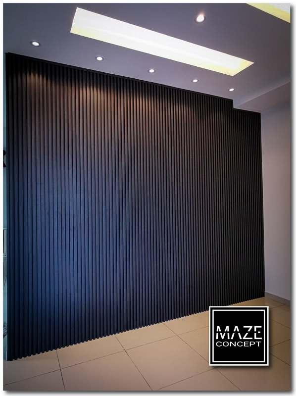 Wood Wall Panel For Living Room Semenyih V2