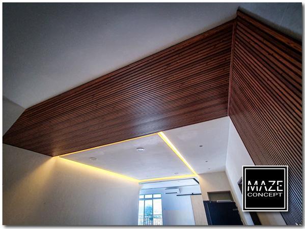 Wood Wall Panel For Living Room Setia Alam